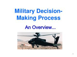 Military Decision-Making Process