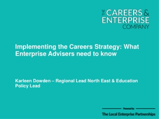 New arrangements for careers guidance
