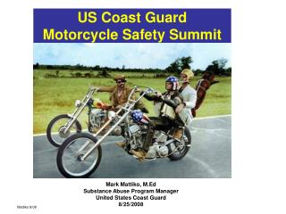 US Coast Guard  Motorcycle Safety Summit
