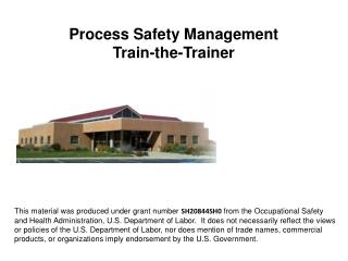 OSHA Office of Training  Education
