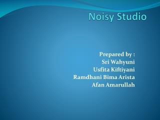 Noisy Studio