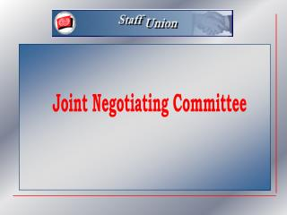 Joint Negotiating Committee