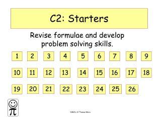 C2: Starters