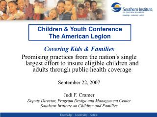 Children & Youth Conference The American Legion