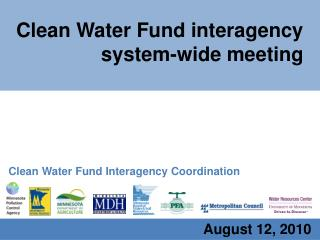 Clean Water Fund interagency system-wide meeting