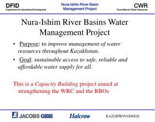 Nura-Ishim River Basins Water Management Project