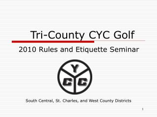 Tri-County CYC Golf