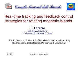 Real-time tracking and feedback control strategies for rotating magnetic islands