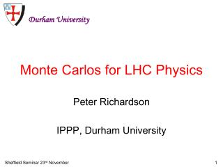 Monte Carlos for LHC Physics