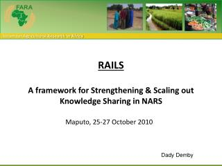 RAILS A framework for Strengthening & Scaling out  Knowledge Sharing in NARS