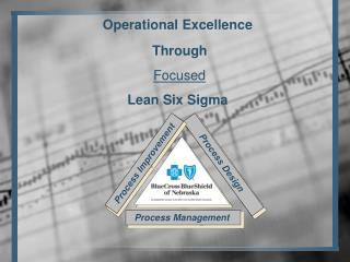 Operational Excellence Through Focused Lean Six Sigma