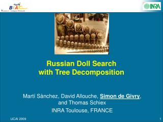Russian Doll Search with Tree Decomposition