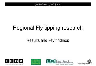 Regional Fly tipping research