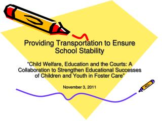 Providing Transportation to Ensure School Stability