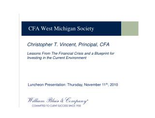 CFA West Michigan Society