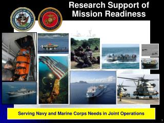 Research Support of Mission Readiness