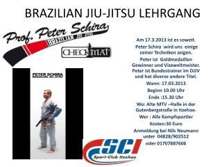 BRAZILIAN JIU-JITSU LEHRGANG