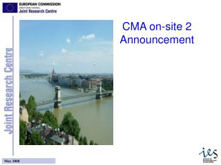CMA on-site 2 Announcement