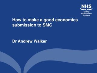 How to make a good economics submission to SMC