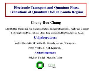 Electronic Transport and Quantum Phase Transitions of Quantum Dots in Kondo Regime