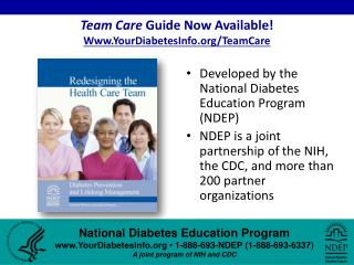 Team Care Guide Now Available Www.YourDiabetesInfo