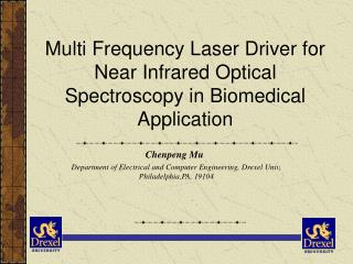 Multi Frequency Laser Driver for Near Infrared Optical Spectroscopy in Biomedical Application