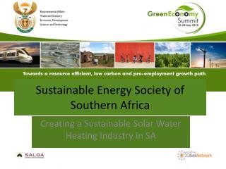 Sustainable Energy Society of Southern Africa