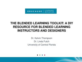 The Blended Learning Toolkit: A DIY Resource for Blended Learning Instructors and Designers