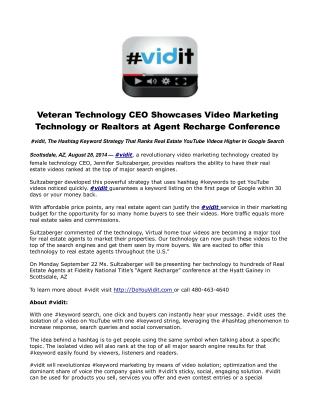 Veteran Technology CEO Showcases Video Marketing Technology