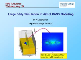 Large Eddy Simulation in Aid of RANS Modelling
