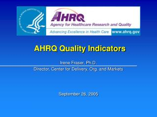 AHRQ Quality Indicators