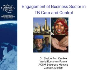 Engagement of Business Sector in  TB Care and Control