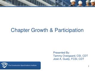 Chapter Growth & Participation