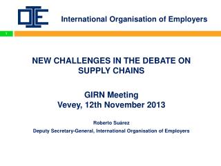 International Organisation of Employers