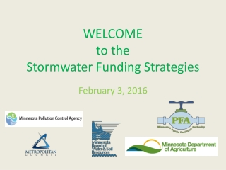 Storm Water Management Overview