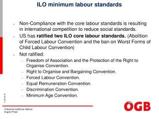 ILO minimum labour standards