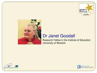 Dr Janet Goodall
