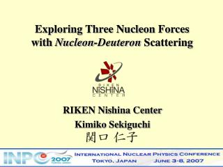 Exploring Three Nucleon Forces  with  Nucleon-Deuteron  Scattering
