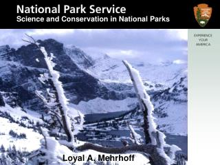 Science and Conservation in National Parks