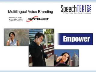 Multilingual Voice Branding