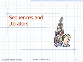 Sequences and Iterators