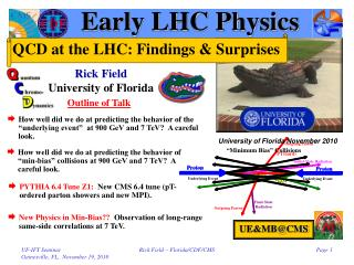 Early LHC Physics