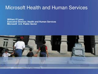 Microsoft Health and Human Services