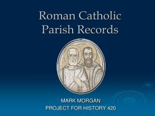 Roman Catholic Parish Records