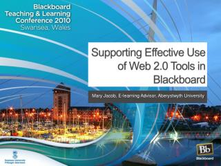Supporting Effective Use of Web 2.0 Tools in Blackboard