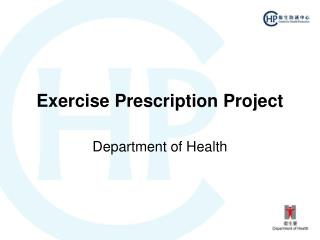 Exercise Prescription Project