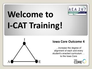 Welcome to I-CAT Training!