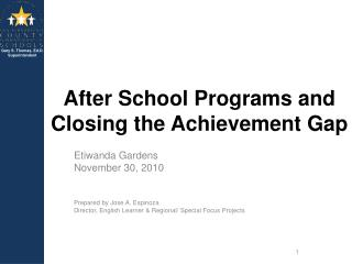 After School Programs and Closing the Achievement Gap