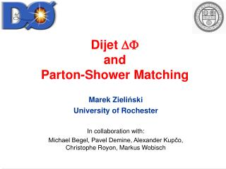 Dijet  DF and Parton-Shower Matching