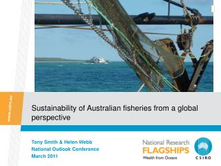 Sustainability of Australian fisheries from a global perspective